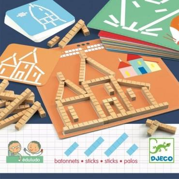 Eduludo : Bâtonnets - Djeco - Trésors d'Enfance à Rodez
