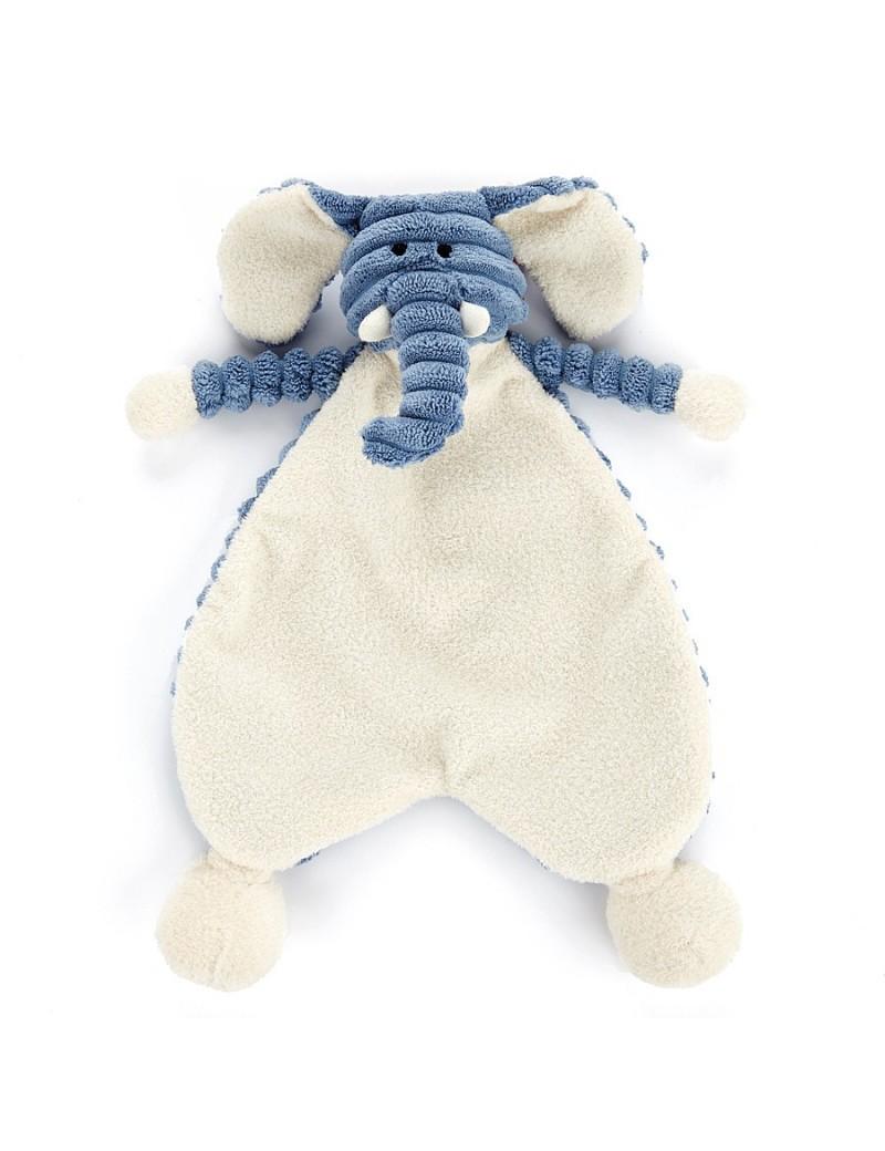 Cordy Roy Baby Elephant Soother - Jellycat - Trésors d'Enfance à Rodez