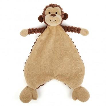 Cordy Roy Baby Monkey Soother - Jellycat - Trésors d'Enfance à Rodez