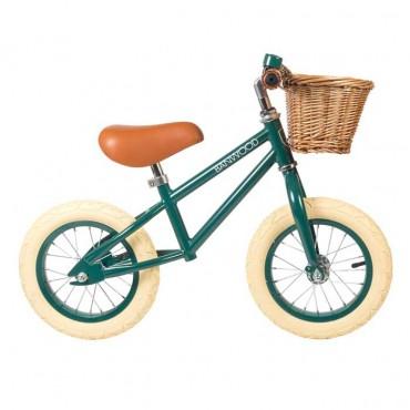 Draisienne First Go Verte - Banwood - Trésors d'Enfance à Rodez-jeux-jouets