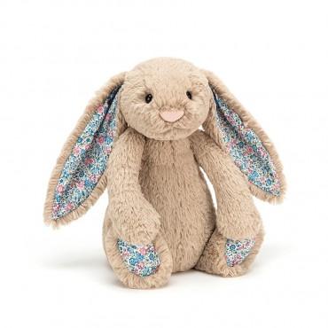 Peluche Lapin 18cm : Blossom Beige Bunny Small - Jellycat - Trésors d'Enfance à Rodez