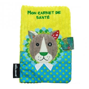 Protège Carnet de Santé Jélékros - Les Deglingos - Trésors d'Enfance à Rodez
