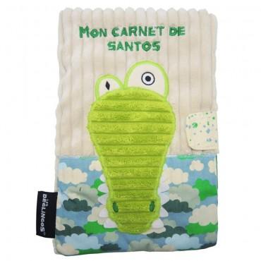 Protège Carnet de Santé Aligatos - Les Deglingos - Trésors d'Enfance à Rodez