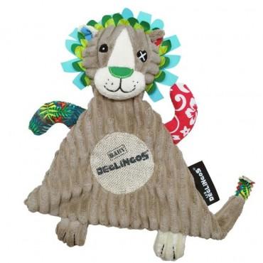 Doudou lion Jélékros - Les Déglingos - Trésors d'Enfance à Rodez