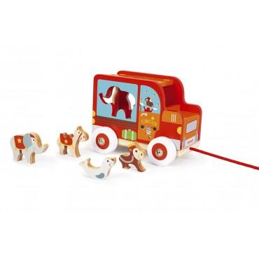 Voiture à Formes Cirque - Scratch - Trésors d'Enfance à Rodez-jeux-jouets