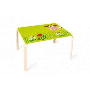 Table Vache Marie - Scratch - Trésors d'Enfance à Rodez-cadeau-table enfant