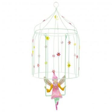 Volière à elfes Fleurs - L'Oiseau Bateau - Trésors d'Enfance à Rodez