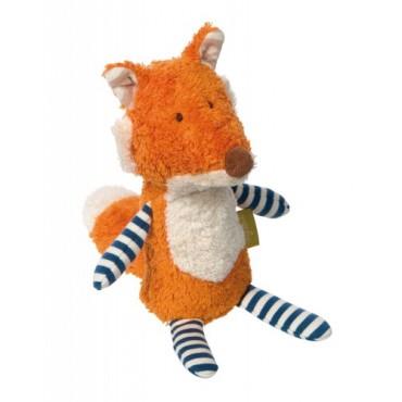 Doudou mini renard Coton Bio - Sigikid - Trésors d'Enfance à Rodez