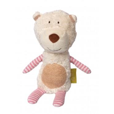 Doudou mini ours Polaire Coton Bio - Sigikid - Trésors d'Enfance à Rodez