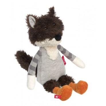 Peluche Loup Patchwork Sweety - Sigikid - Trésors d'Enfance à Rodez