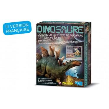 Déterre ton dino Stegosaurus - 4M - Trésors d'Enfance à Rodez
