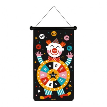 Jeu de Fléchettes Magnétiques : Cirque - Janod - Trésors d'Enfance à Rodez