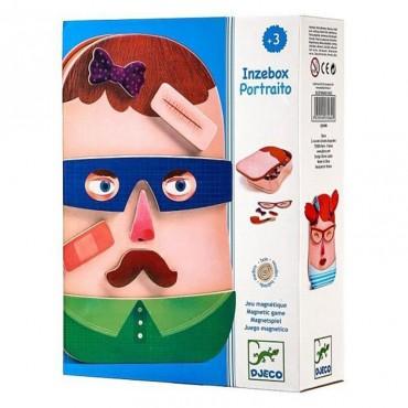 Magnets : Inzebox Portraito - Djeco - Trésors d'Enfance à Rodez