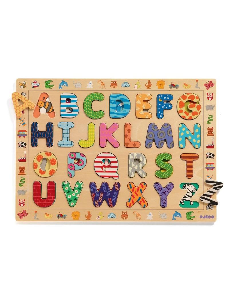 Puzzle éducatif ABC - Djeco - Trésors d'Enfance à Rodez