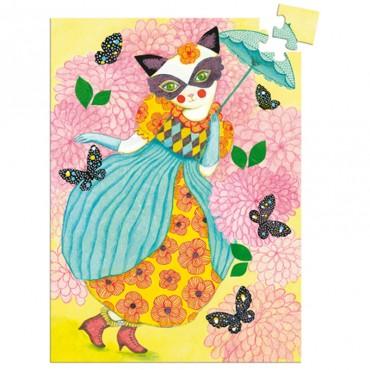 Mini Puzzle 60 pièces : Miss Tigri - Djeco - Trésors d'Enfance à Rodez