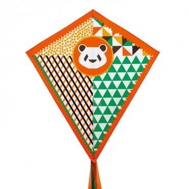 Cerf Volants : Panda - Djeco - Trésors d'Enfance à Rodez