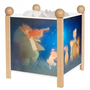 Lanterne Magique : Ernest et Célestine Naturel - Trousselier - Trésors d'Enfance à Rodez