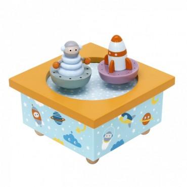 Boîte à Musique Magnétique : Fusée - Trousselier - Trésors d'Enfance à Rodez