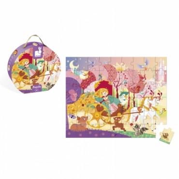 Puzzle La Princesse et le Carrosse 54 pièces - Janod - Trésors d'Enfance à Rodez