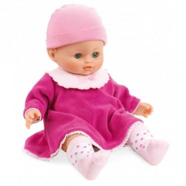 Poupon Petit Câlin 36 cm : Clémence - PetitCollin - Trésors d'Enfance à Rodez