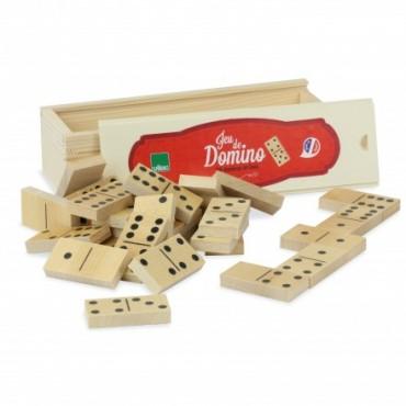 Jeu de Domino en bois - Vilac - Trésors d'Enfance à Rodez