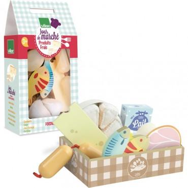 Set de produits frais en bois - Vilac - Trésors d'Enfance à Rodez