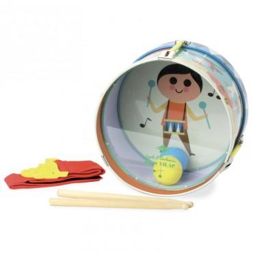 Mon petit tambour en métal - Vilac - Trésors d'Enfance à Rodez