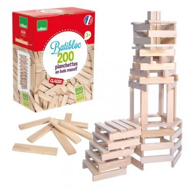 Baril de 200 planchettes de bois - Vilac - Trésors d'Enfance à Rodez