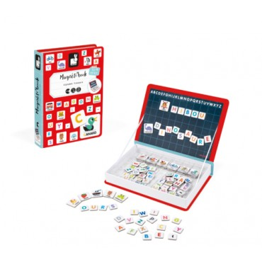 Magnéti'Book : Alphabet - Janod - Trésors d'Enfance à Rodez