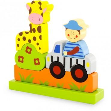 Puzzle Magnet : Zoo - Ulysse Couleurs d'Enfance  - Trésors d'Enfance à Rodez