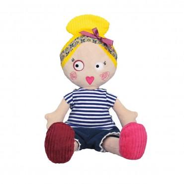 Poupée en tissu : Colette - Les Mistinguettes - Trésors d'Enfance à Rodez