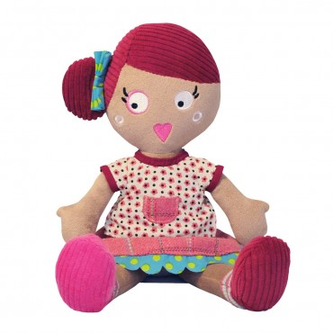 Poupée en tissu : Jeannette - Les Mistinguettes - Trésors d'Enfance à Rodez