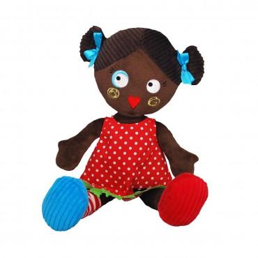 Poupée en tissu : Paulette - Les Mistinguettes - Trésors d'Enfance à Rodez