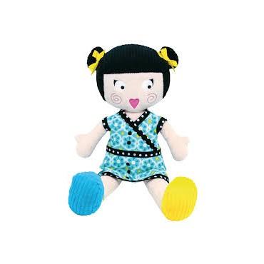 Poupée en tissu : Louisette - Les Mistinguettes - Trésors d'Enfance à Rodez