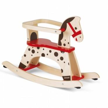 Cheval à Bascule Caramel - Janod - Trésors d'Enfance à Rodez