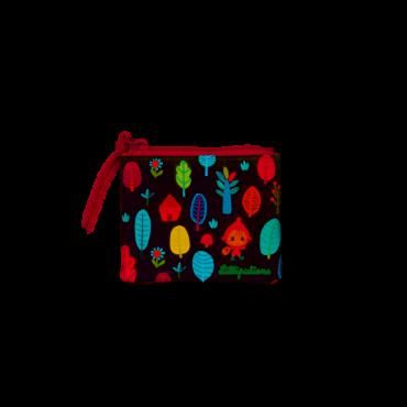 Porte-monnaie Chaperon Rouge - Lillipuciens - Trésors d'Enfance à Rodez
