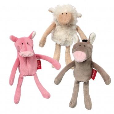 Marionnettes à doigt Ferme - Sigikid - Trésors d'Enfance à Rodez