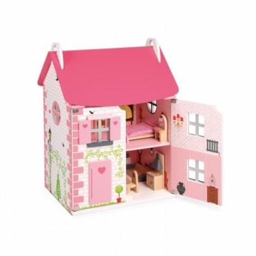 Maison de poupées Mademoiselle - Janod - Trésors d'Enfance à Rodez