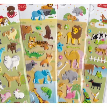 Stickers Animaux - Majolo - Trésors d'Enfance à Rodez