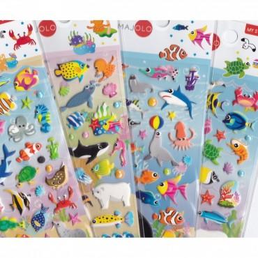 Stickers Animaux Marins - Majolo - Trésors d'Enfance à Rodez