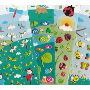 Stickers Insectes - Majolo - Trésors d'Enfance à Rodez