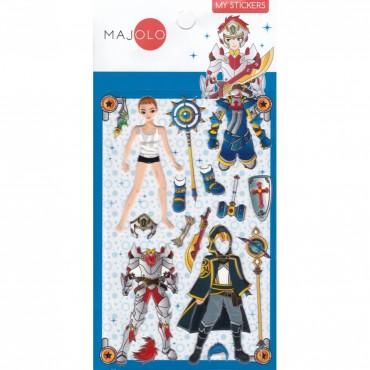 Stickers Chevalier du Zodiaque - Majolo - Trésors d'Enfance à Rodez