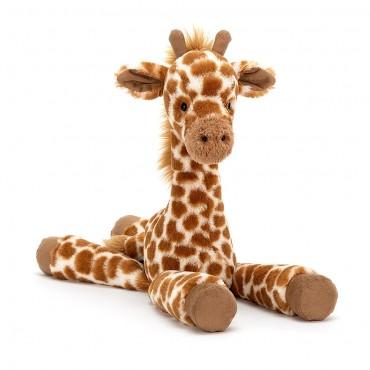 Peluche Girafe : Dillydally Giraffe Medium - Jellycat - Trésors d'Enfance à Rodez