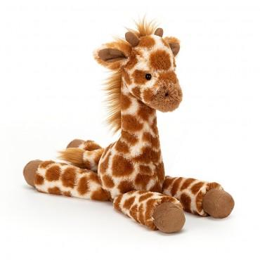 Peluche Girafe : Dillydally Giraffe Small - Jellycat - Trésors d'Enfance à Rodez
