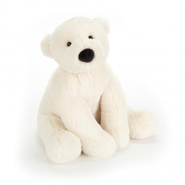 Peluche Ours Polaire 38 cm...