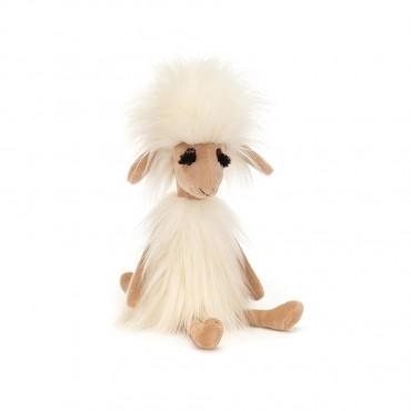Peluche Mouton : Swellegant Sophie Sheep 35 cm - Jellycat - Trésors d'Enfance à Rodez