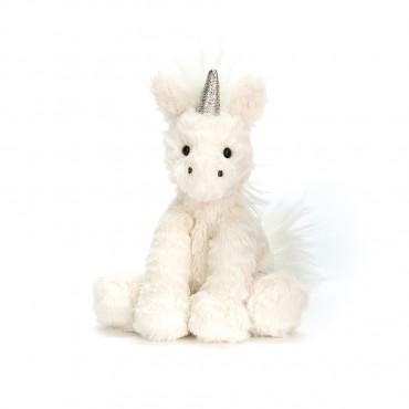 Peluche Licorne : Baby Fuddlewuddle Unicorn - Jellycat - Trésors d'Enfance Rodez