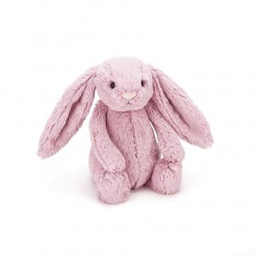 Peluche Lapin 18 cm - Bashful Tulip Bunny Small - Jellycat - Trésors d'Enfance à Rodez
