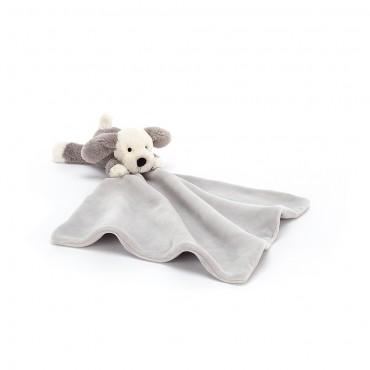 Bashful Shooshu Puppy Soother - Jellycat - Trésors d'Enfance Rodez