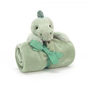 Shooshu Dino Soother - Jellycat - Trésors d'Enfance Rodez